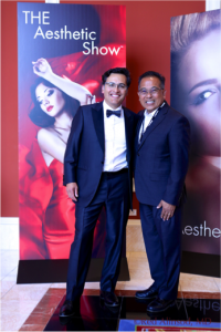 Dr. Oscar A. Aguirre was a finalist for two awards at THE Aesthetic Show™!